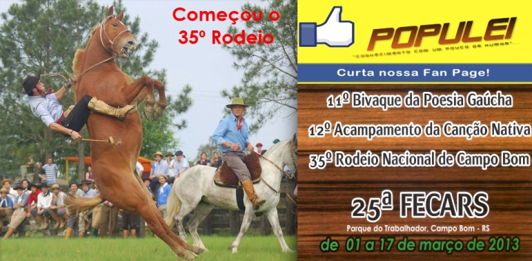 35º Rodeio Nacional de Campo Bom