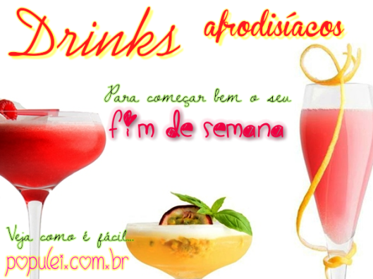 Drinks Afrodisíacos