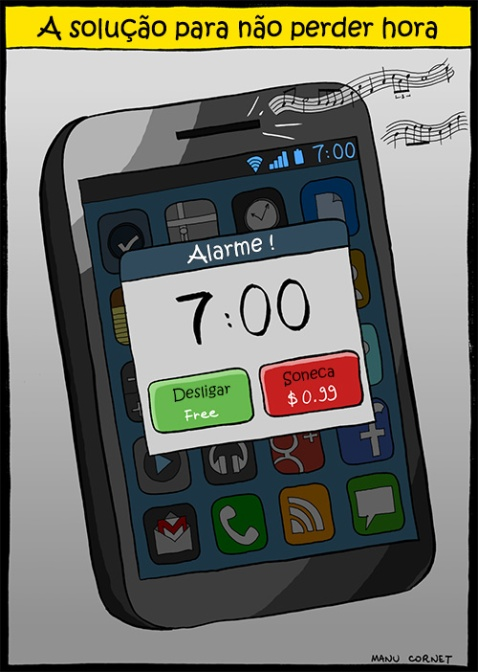 Alarme de Celular